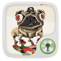 Mechanical Dog GO Locker Theme icon
