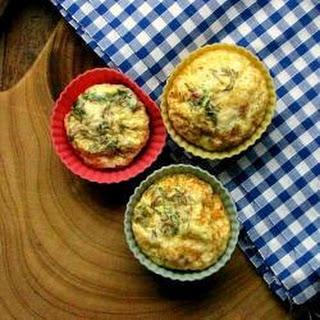 Mini Omelette Cakes Recipe