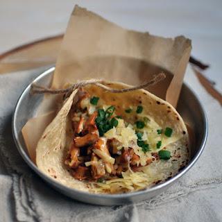 Chanterelle Tacos