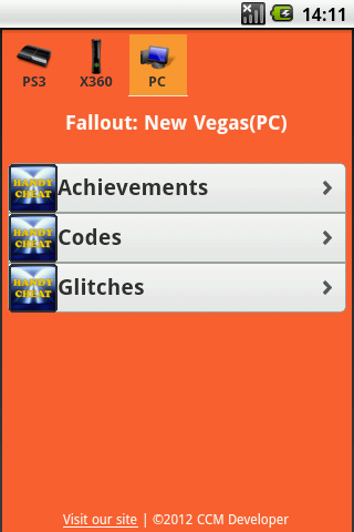 Fallout All Series Cheats - screenshot