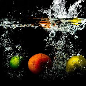 Three Fruits by Adele Price - Food & Drink Fruits & Vegetables ( Food & Beverage, meal, Eat & Drink,  )