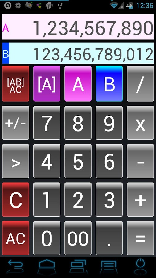 Dual Calculator Twin Free- screenshot