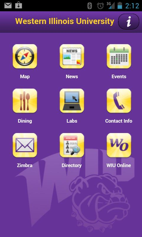 WIU Mobile - screenshot