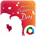 Valentines Day sound cards icon