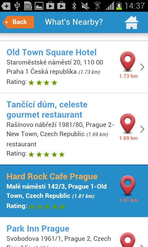 Prague Guide Hotel Map Weather- screenshot