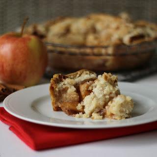 Dad's Apple Crumb Pie.