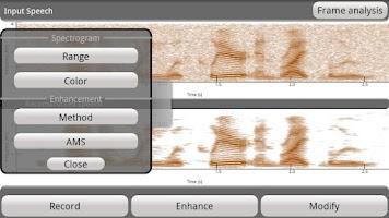 Screenshot of Speech Enhancement for Android