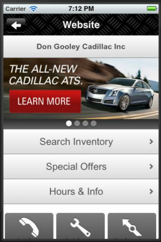 Don Gooley Cadillac - screenshot