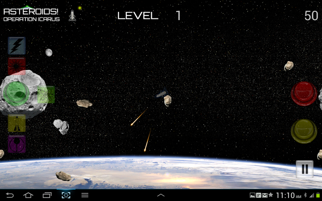 Asteroids! Operation:Icarus - screenshot