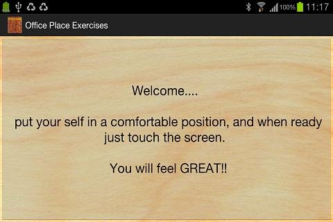 Office Place Exercises