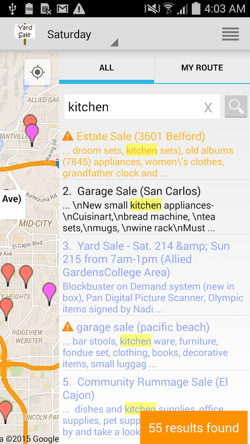 Yard Sale Treasure Map- screenshot