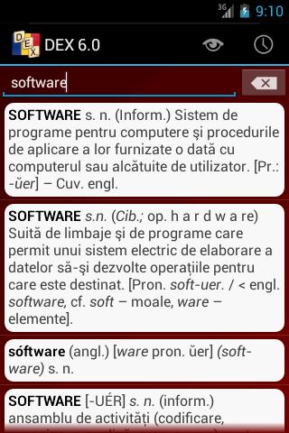 DEX pentru Android - screenshot