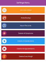 Symptom Tracker - screenshot thumbnail