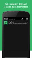 Screenshot of SnipSnap Coupon App