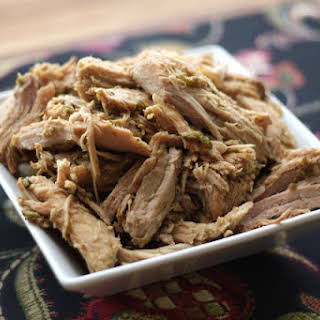 Crock-Pot Green Chile Pulled Pork.