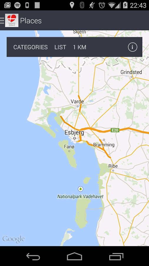Tourist info SouthWest Denmark Android Apps on Google Play
