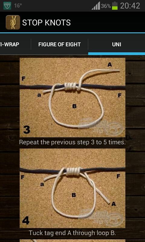 Ultimate Fishing Knots - screenshot