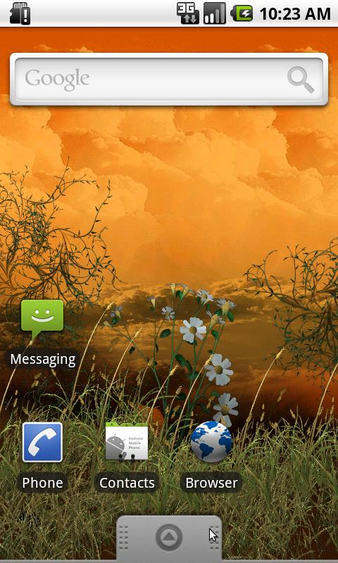 windy weather live wallpaper for android