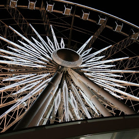 Niagara Falls Sky Wheel Ontario by Dianne Collins - City,  Street & Park  Amusement Parks
