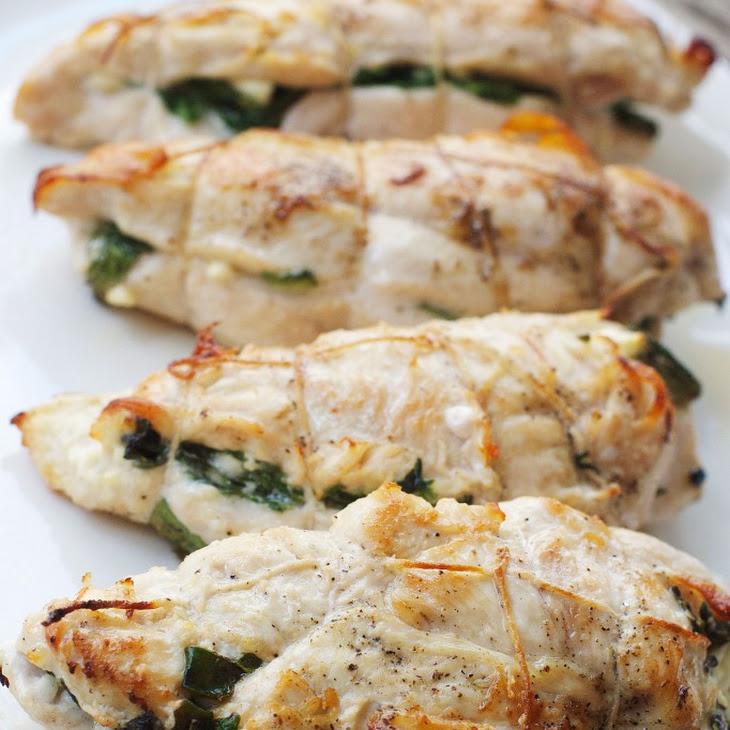 Feta & Spinach Stuffed Chicken Breast Recipe