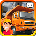 Heavy Truck : Construction 3D mobile app icon