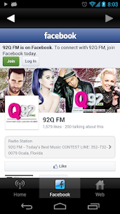 Q92 Radio- screenshot thumbnail