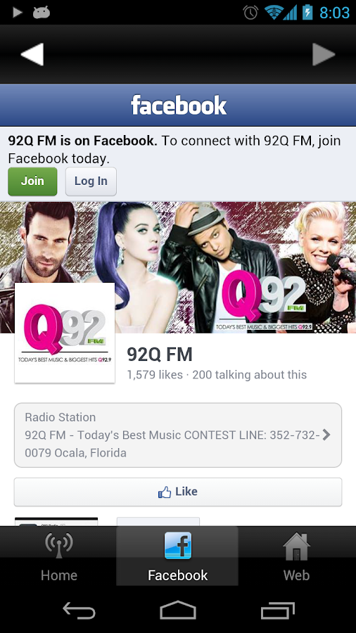 Q92 Radio - screenshot
