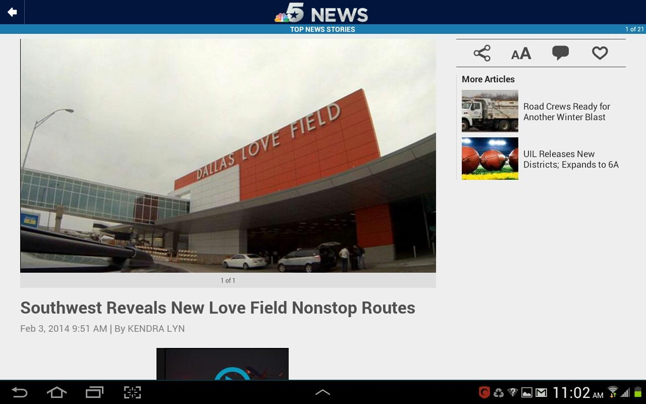 NBC DFW- screenshot