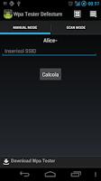 Screenshot of Wpa Tester Defectum