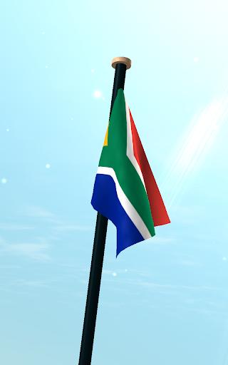 南アフリカフラグ3D無料ライブ壁紙|玩個人化App免費|玩APPs
