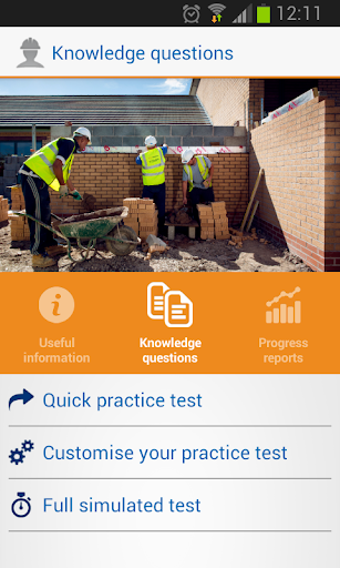 CITB op spec HS E test PLUS
