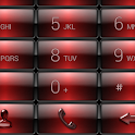 Dialer Gloss Red Dusk Theme icon