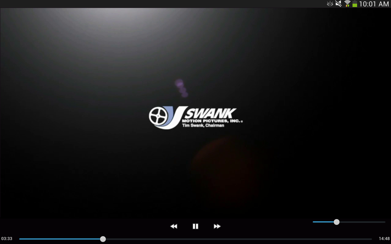 Swank Media Player- screenshot