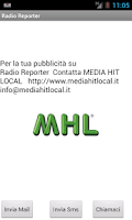 Screenshot of Radio Reporter