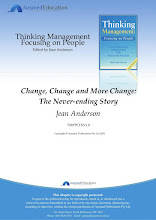 Change, Change and More Change: the Never-Ending Story