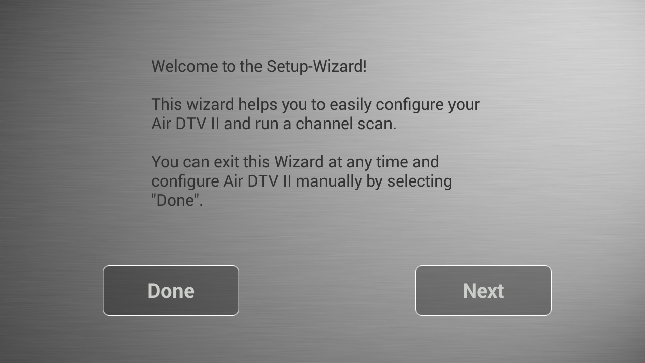 Air DTV II- screenshot