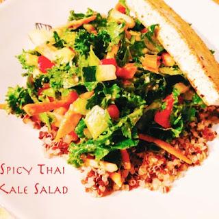 Spicy Thai Kale Salad