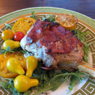 Veal Chops with Mozzerella, Sage & Proscuitto.
