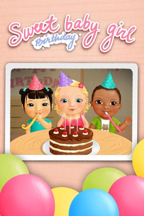 Sweet Baby Girl - Birthday- screenshot