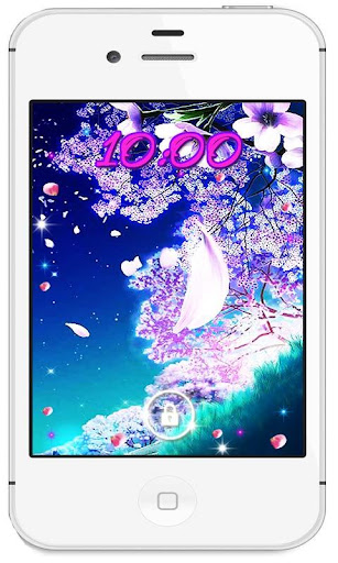 Sakura Magic Love HD LWP