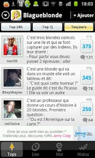 Blagues de Blondes - screenshot thumbnail