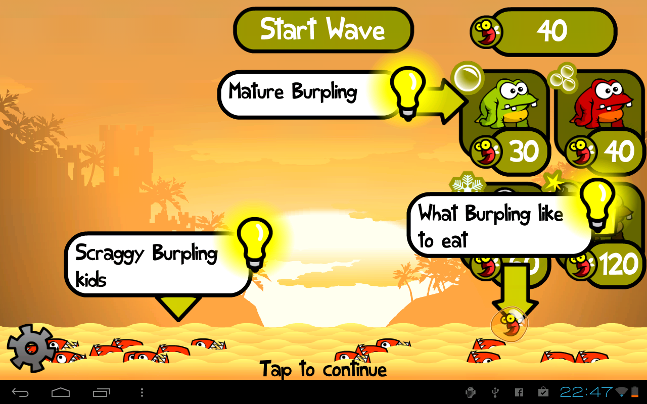 Greedy Burplings - screenshot