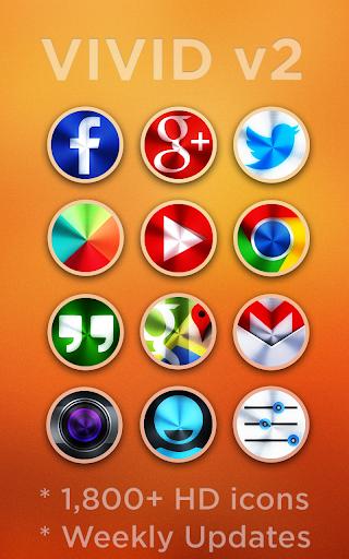 VIVID v2 - Icon Pack