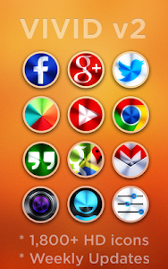 VIVID v2 - Icon Pack v2.4.9