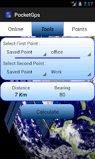 Pocket Gps ( GPS Tool ) - screenshot thumbnail