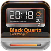BlackQuartz Clock Widget