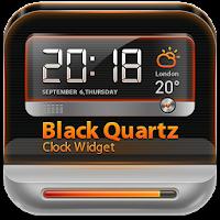 BlackQuartz Clock Widget 1.0