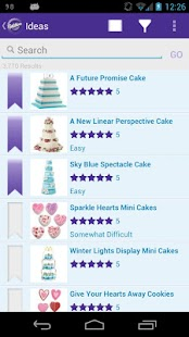 Wilton Cake Ideas & More- screenshot thumbnail