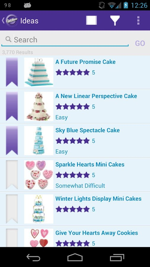 Wilton Cake Ideas & More- screenshot