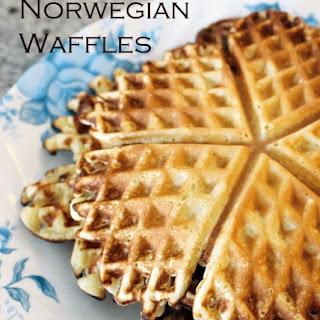 Norwegian Waffles (Norske Vafler)